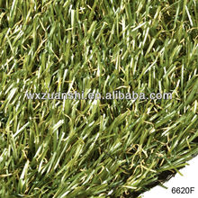 home garden artificial grass,long hair synthetic grass for residence garden,garden decoration artificial turf (6620F)