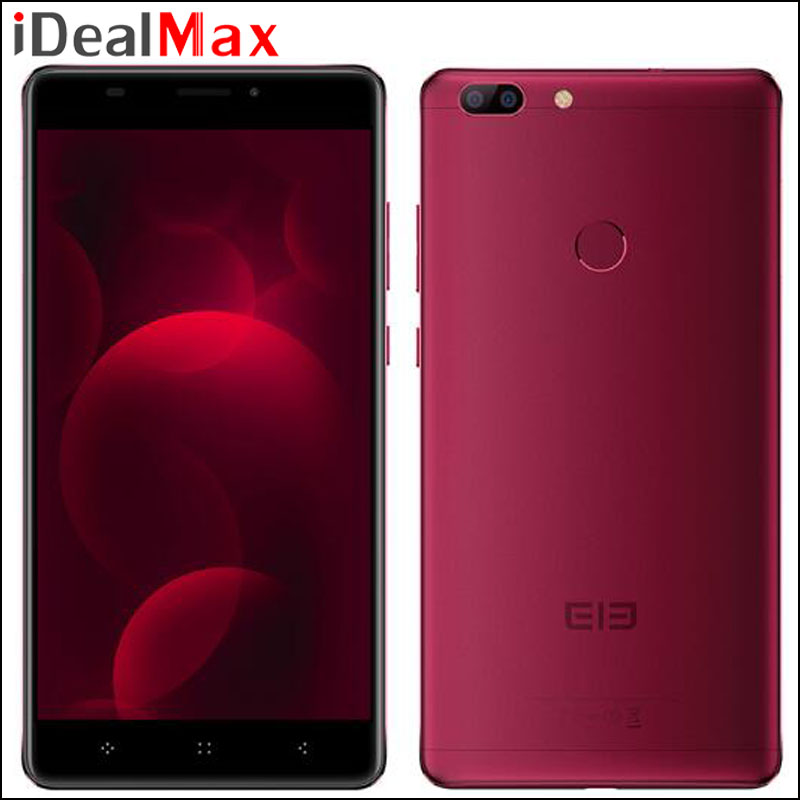 "Original Elephone C1 Max Smart Phone MTK6737 Quad Core 2GB RAM 32GB ROM 6.0"" 1280*720 Android 7.0 Camera 13.0MP Fingerprint 4G"