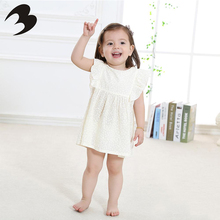 Hottest Top Quality cute baby girl clothes dresses fashion cheap