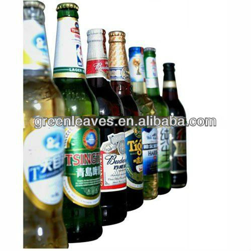 Metallized Paper Offset Paper For Beer Label