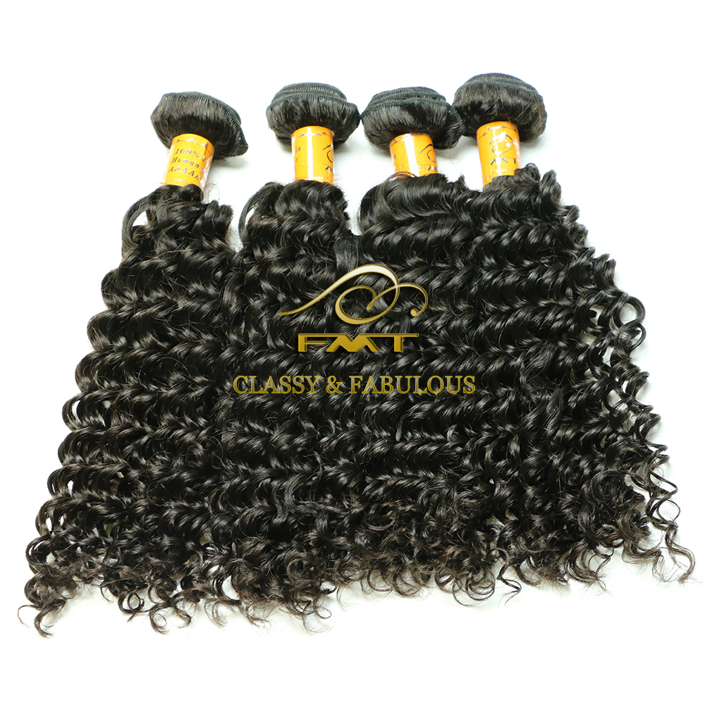 Large Stock Wholesale Price 100% Human Hair Good Ration Mongolian Kinky Curly Remy Hair Weave