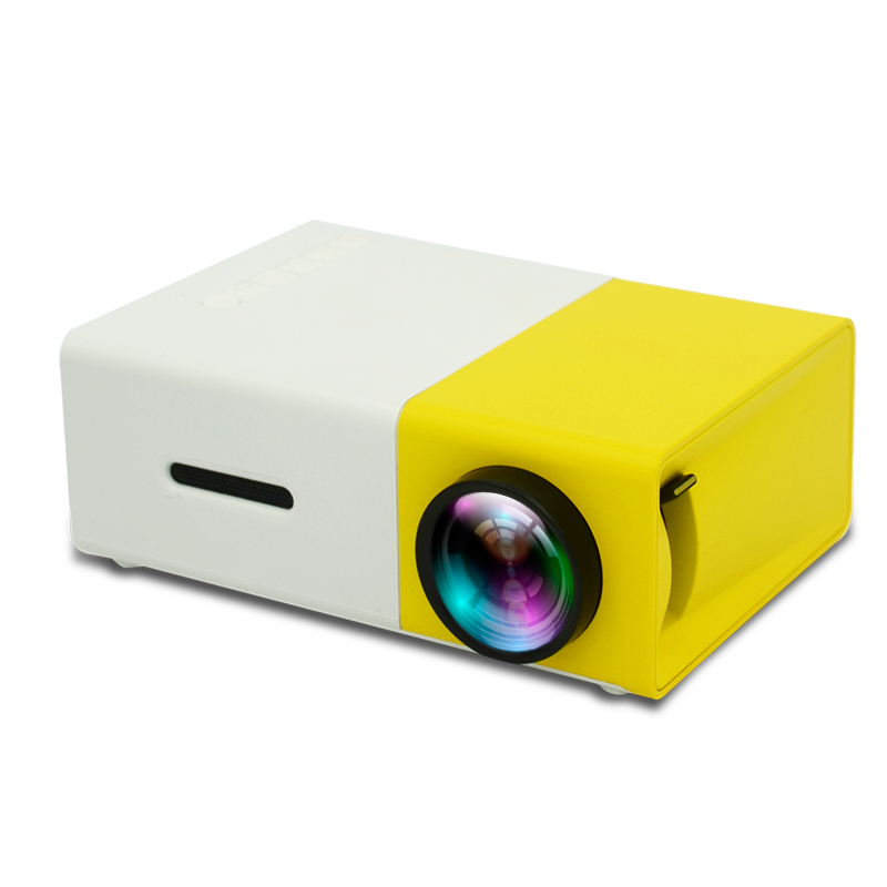 YG300 HD USB CinemaTheater Beamer YG300 Multimedia cheap Proyector Game Mini Portable Home LED Pocket Projector