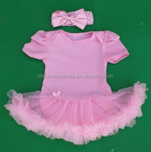 Wholesale Petti Kids Romper Fashion Baby Romper Toddler TuTu Romper