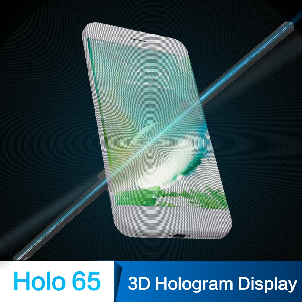 Giwox Holo 65,3D Floating Hologram projector Led <strong>Advertising</strong> Display fan,3D projector
