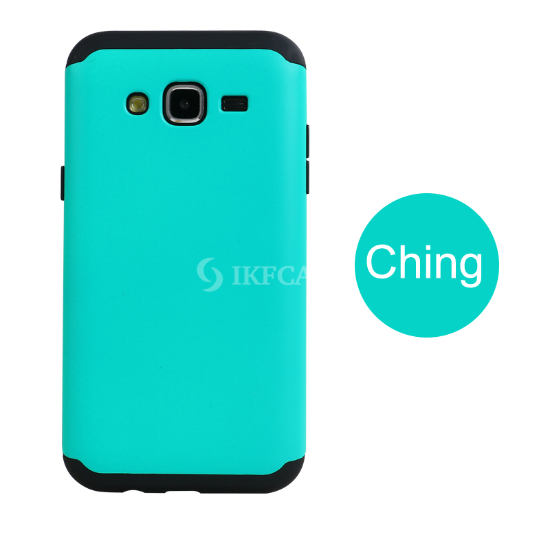 Wholesale Fashion Hybrid TPU PC Slim Shockproof Armor Cell Phone Cover for Samsung