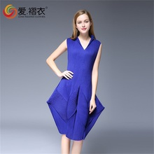2016 ladies fashion designer one piece party dress for ladies