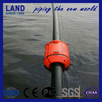 Large diameter 4m*4m easy dredging float pontoon