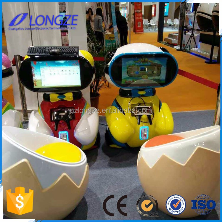 Longze Kids coin operated virtual reality system game machine children vr game