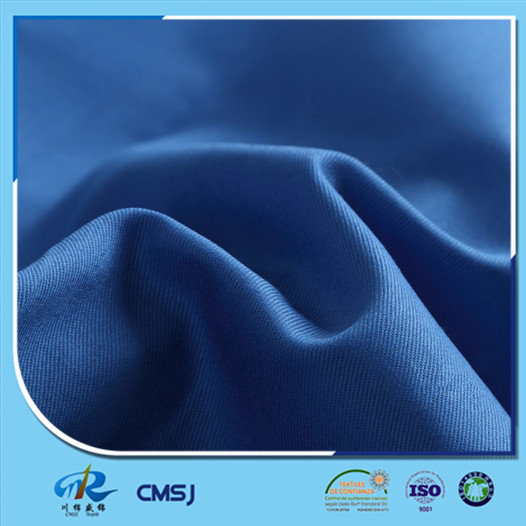 High quality 65 35 polyester cotton twill weave pattern dyeing fabric