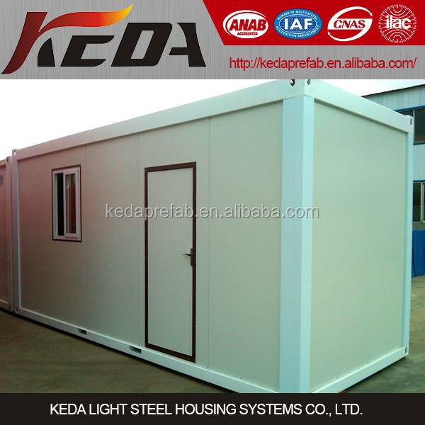 20ft Prefabricated Container House /Office / Home Container Assemble 00166