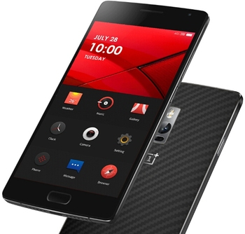 ONEPLUS TWO Plus 5.7inch 4G LTE Hydrogen OS 4GB 64GB Smartphone 64-bit Qualcomm Snapdragon 810 Octa Core 2.0GHz 16.0MP - Black