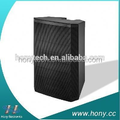 ABS Active Plastic PA Speaker Cabinet for Outdoor 120W with USB, SD, FM radio