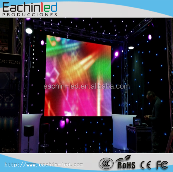 P6 indoor LED TV pitch 6.9mm led video wall on sale