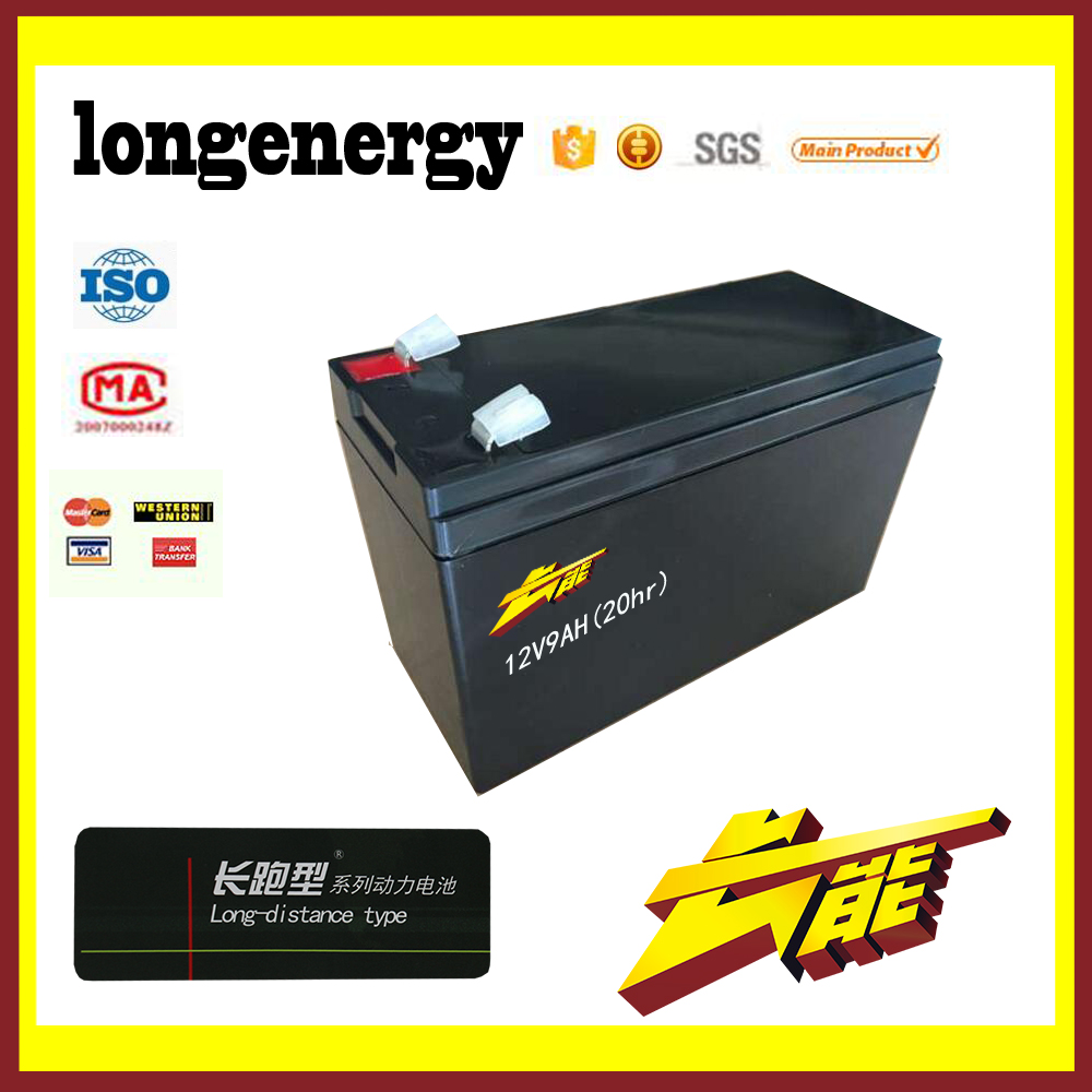 ups power supply 12v 9ah lead acid storage battery