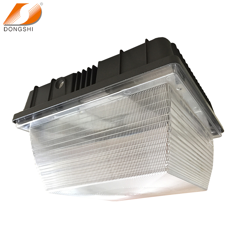 best price PC cover gas station canopy LED garage light