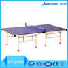 New design table tennis table Double folding indoor movable table tennis table