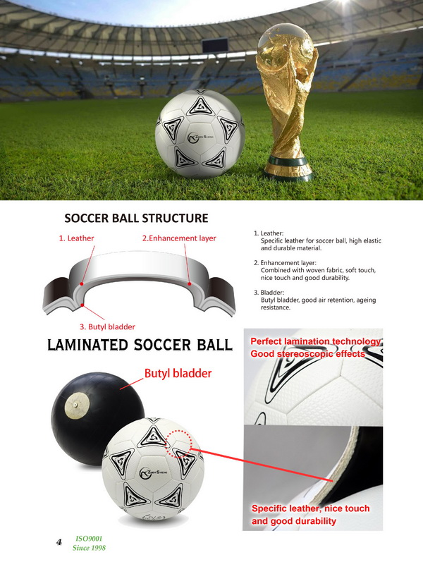 Zhensheng machine stitched recreational soccer ball