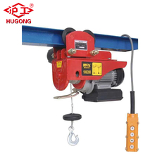 building construction micro wire rope hoist small lifting electric winch