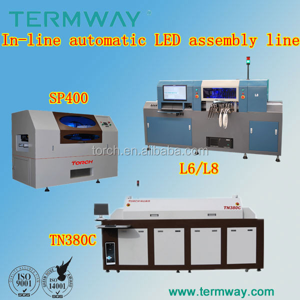 Termway LED Assembly Line/LCD production line sp400-L6-TN360C