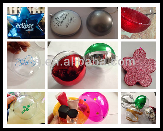 chocolate easter egg plastic ball 10cm for Party Holiday ornaments