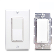 EVA LOGIK zwave Automatic timing <strong>mobile</strong> <strong>phone</strong> control smart wall light switch