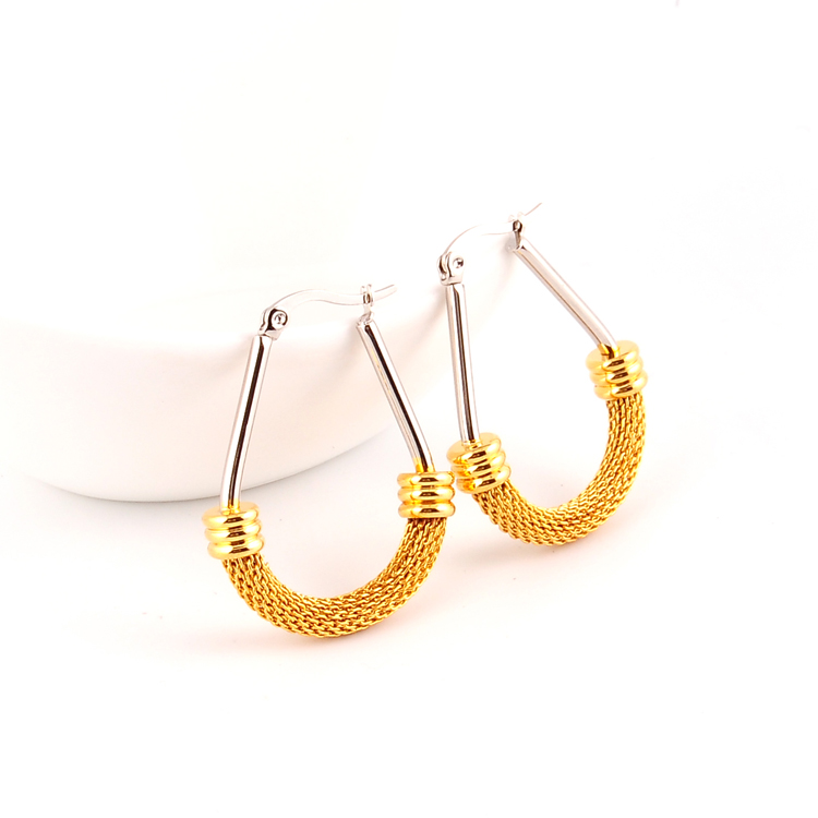 Self piercing hoop earrings tragus piercing gold jewelry earings for women 2017