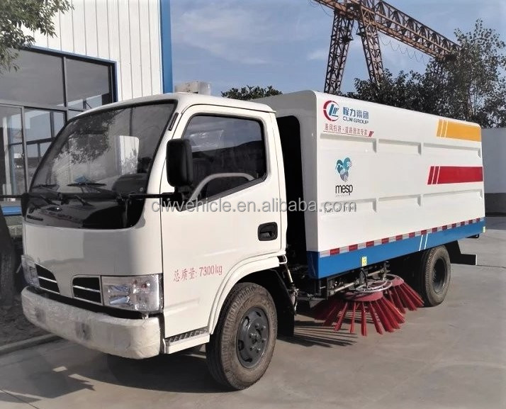 Dongfeng Vacuum Truck Mounted Road Sweeper For Sale