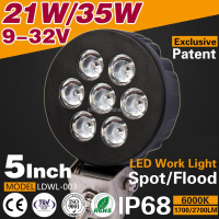 9 32V 35W Led Work Lamp