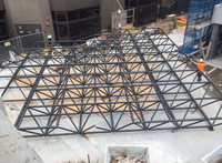 Canopy steel space frame roof system building in Australia