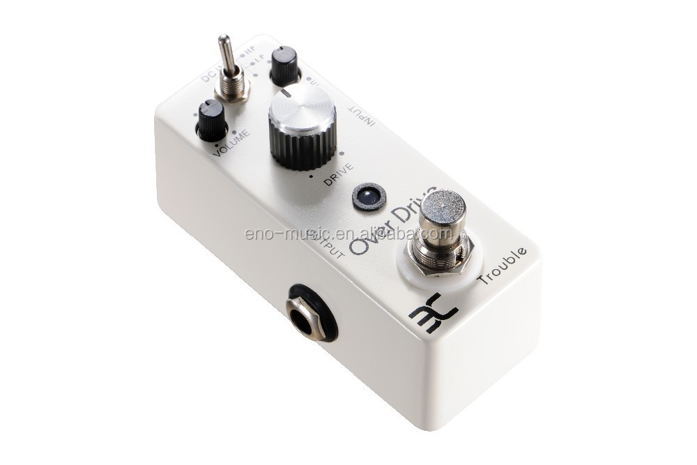 TC-16 OVERDRIVE/ Higher gain and longer sustain than most overdrive guitar effects pedals on the market