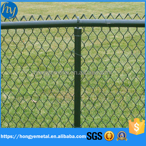 Fencing for home & garden/diamond wire mesh/pvc coated chain link fence
