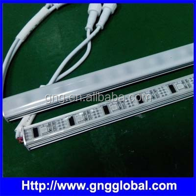 IP67 programmable led tube light bar one led as a pixe ws2801