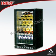 Commercial Glass Door Mini Fridge/Hotel Room Fridge/Table Top Mini Fridge