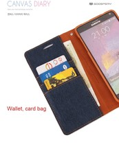 original goospery CANVAS DIARY case wallet flip leather mobile phone case colorful cover for SAMSUNG S3 I9300