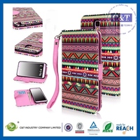 New Luxury smart wallet leathe case for samsung galaxy note 3