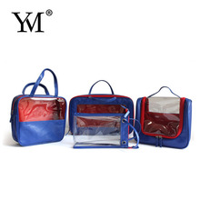 2012 promotional hot sale transparent pvc hanging cosmetic bag