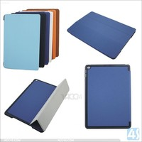 for iPad 6 Smart Case Wake Sleep Function, Totu Design 360 Rotate Folding Stand Leather Case for iPad Air 2