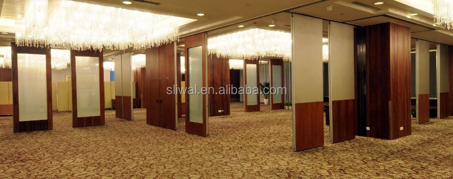 China banquet hall aluminium interior acoustic insulation materials folding partition wall buy - Interior insulating materials ...