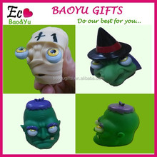 Funny Rolling Eyeballs Pop-out Zombie Silicone Stress Reliever Toy