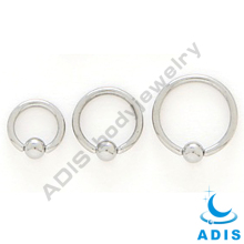 Dongguan Surgical Steel Ball Closure Captive Ring Jewelry-Various Sizes Available BCR Nose Piercing