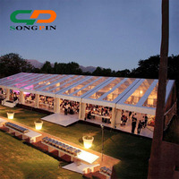 Transparent Marquee Party Wedding Tent 25mx30m
