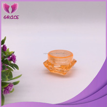 Beautiful PP plastic cream jar 5g 10g 20g 30g 50g diamond jar cosmetics