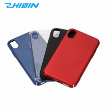Universal mobile phone protective cover phone back cover pc colored phone case for iphone X