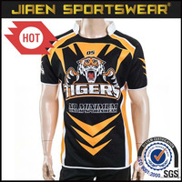 Made in china dongguan factory price custom sublimated cheap rugby jersey custom rugby jersey