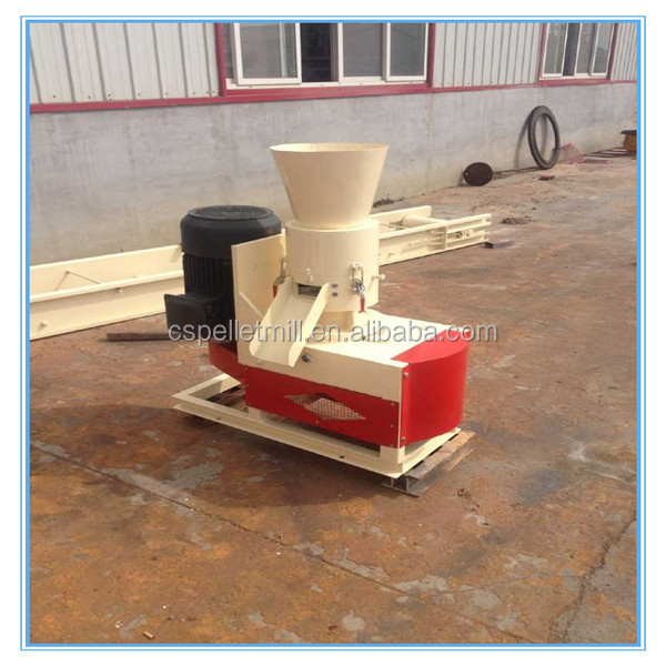 CSPM 2016 new hottest small wood pellet mill 11kw motor 50-150kg/h capacity