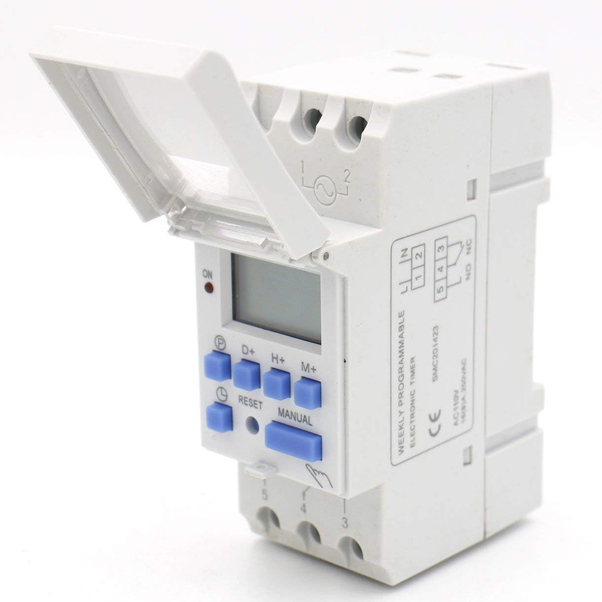 THC-15 16A 110V/220V Relay Digital LCD Power Programmable Timer Time Switch