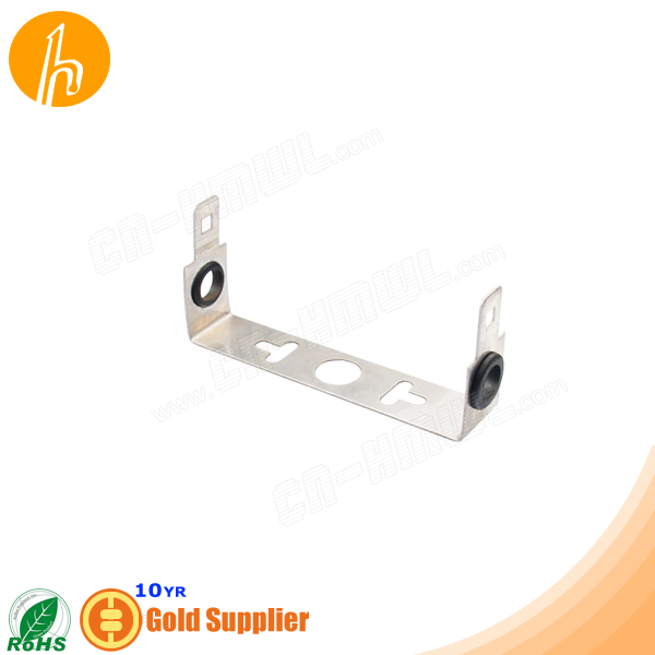 Stainless Steel Back Mount Frame for 1 pair Krone module HM-PP521
