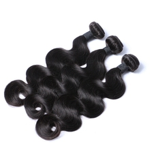 100% human hair unprocessed body wave natural color hair weft, virgin hair weaving