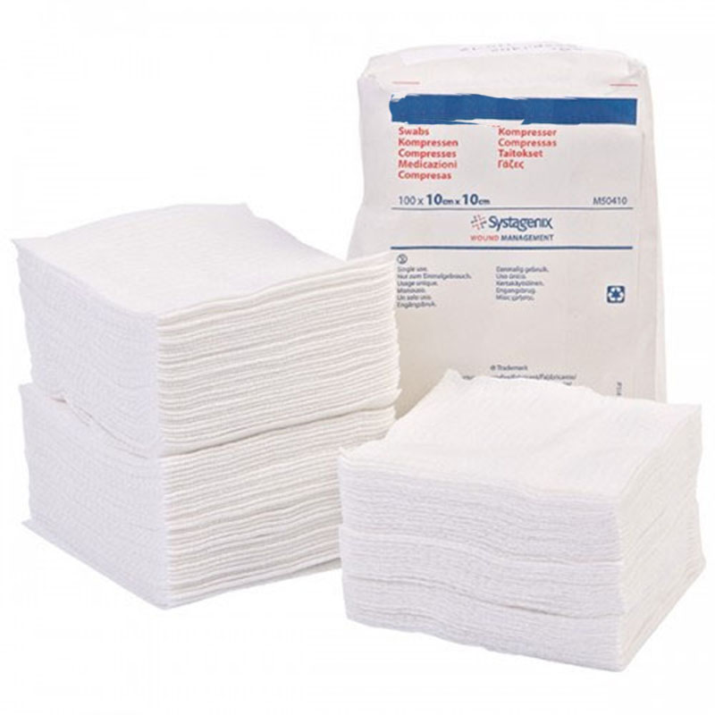 Medical Accessories Non Woven Sponges/Swabs Cotton Gauze Swabs