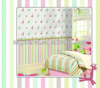 Baby room decorative wallpaper kids room decoration wallpaper sale